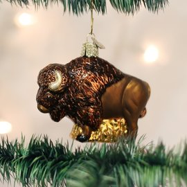 Old World Christmas BUFFALO ORNAMENT