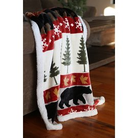 Carstens Tall Pines Throw