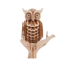 Kikkerland 3D WOODEN PUZZLE OWL