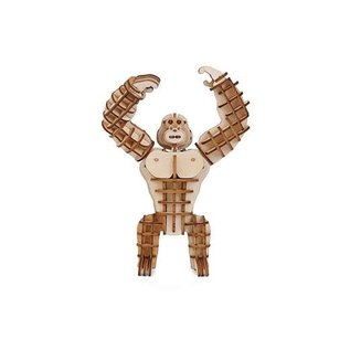 Kikkerland 3D WOODEN PUZZLE GORILLA