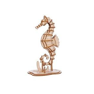 Kikkerland 3D WOODEN PUZZLE SEAHORSE