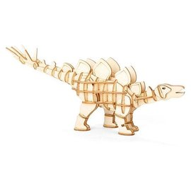 Kikkerland 3D WOODEN PUZZLE STEGOSAURUS
