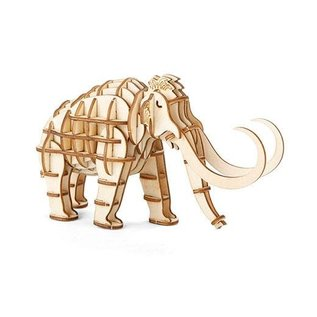 Kikkerland 3D WOODEN PUZZLE MAMMOTH