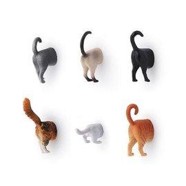 Kikkerland Cat butt magnets