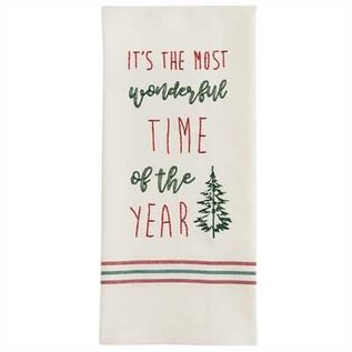 Park Designs TIME OF THE YEAR EMB DISHTOWEL