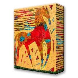 Metal Box Art Troubadour Horse