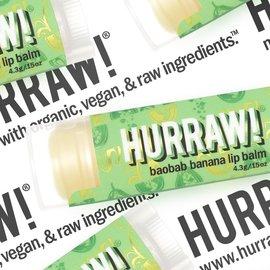 HURRAW! baobab banana - single tube lip balm