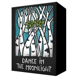 Metal Box Art Dance in the Moonlight