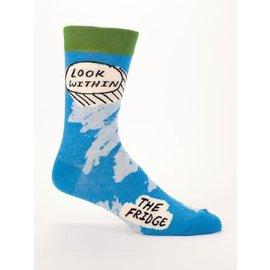 Blue Q Crew Sock - Look Within Fridge