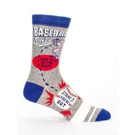 Blue Q Crew Sock - Baseball Socks