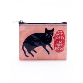 Blue Q COIN PURSE - I'M NOT BOSSY