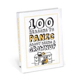 Knock Knock 100 reasons to panic about grownup