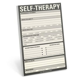 Knock Knock Pad: Self Therapy
