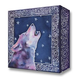 "Metal Box Art Starry Sky Karen Savory 18""X18""X3"" metal box art"