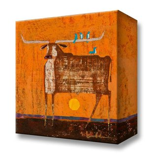 Metal Box Art Rest Stop Shelle Lindholm metal box art 18x18
