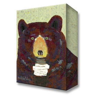 Metal Box Art Huck Bear Shelle Lindholm