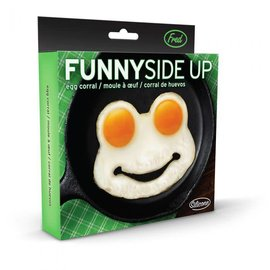 Fred & Friends FUNNY SIDE UP-FROG- EGG CORRAL