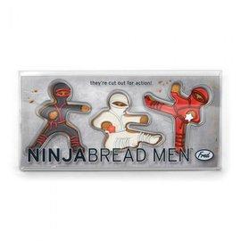 Fred & Friends NINJABREAD MEN - COOKIE CUTTERS