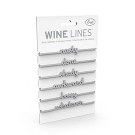 Fred & Friends wine lines snarky