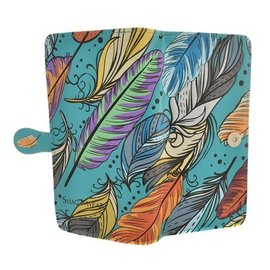 Shagwear ABSTRACT FEATHERS, TEAL