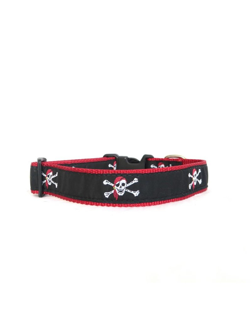 Preston Pirate Skull & Crossbones Collar