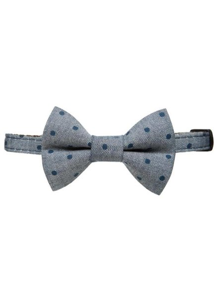 "Sweet Pickles Designs Cat Collar & Bow Tie, ""The Corner Office"""