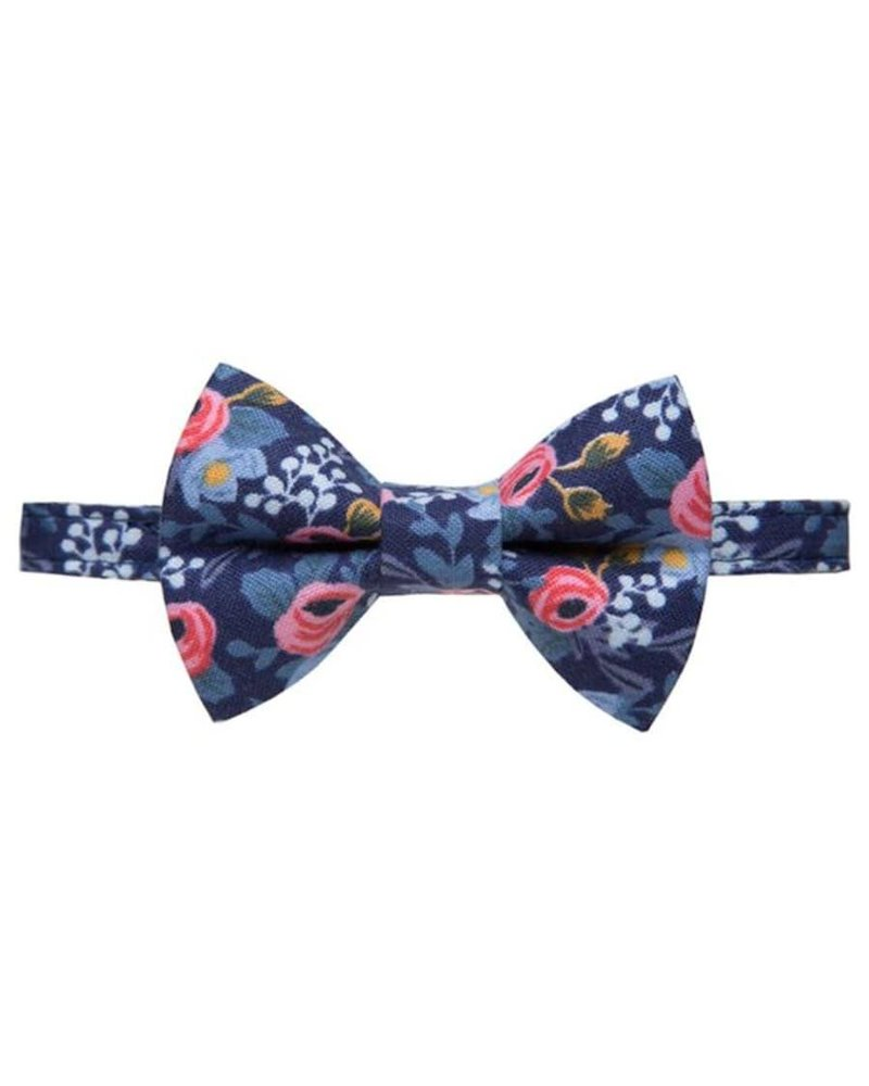 "Sweet Pickles Designs Cat Collar & Bow Tie, ""The Wonderland"""