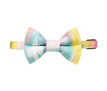 "Sweet Pickles Designs Cat Collar & Bow Tie, ""The Free Thinker"""