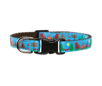 "Sweet Pickles Designs Cat Collar, ""The Weekender"""
