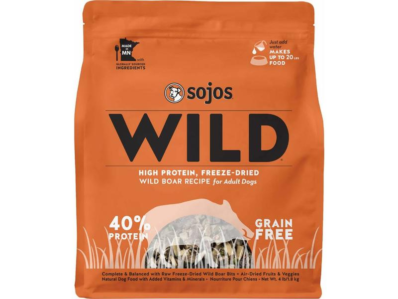 Sojos Wild Grain-Free Boar
