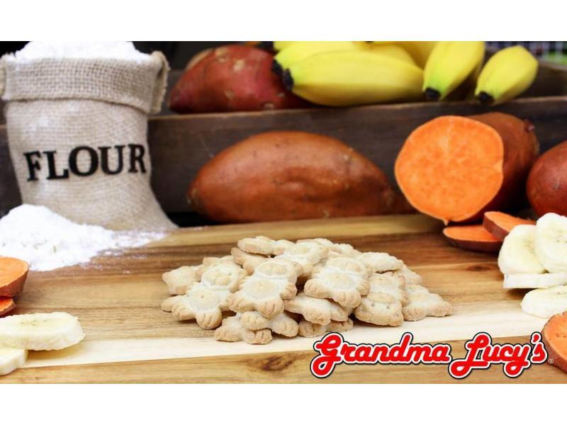 Grandma Lucy's Oven-Baked Organic Banana & Sweet Potato