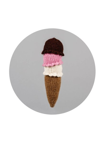 Ware of the Dog Ice Cream Cone Toy