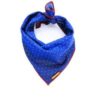 The Foggy Dog Cambridge Pin Dot Bandana