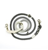 Green Trout Adjustable Rope Lead Grey Ombre