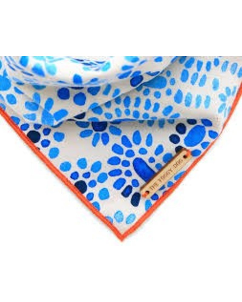 The Foggy Dog Lapis Bandana