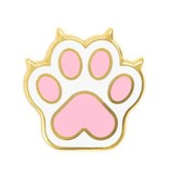 These Are Things Cat Paw Enamel Pin