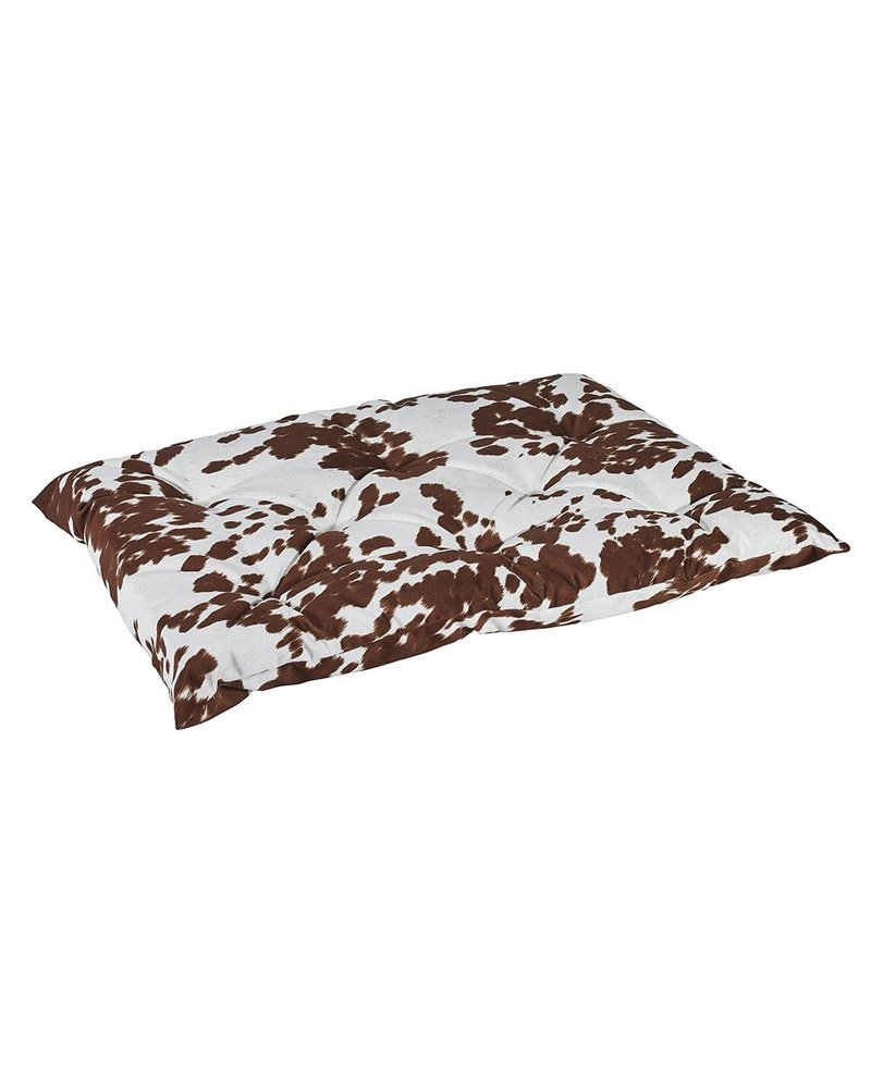 Bowsers Tufted Cushion, Cow Print