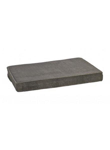 Bowsers Memory Foam Bed, Pewter Bones