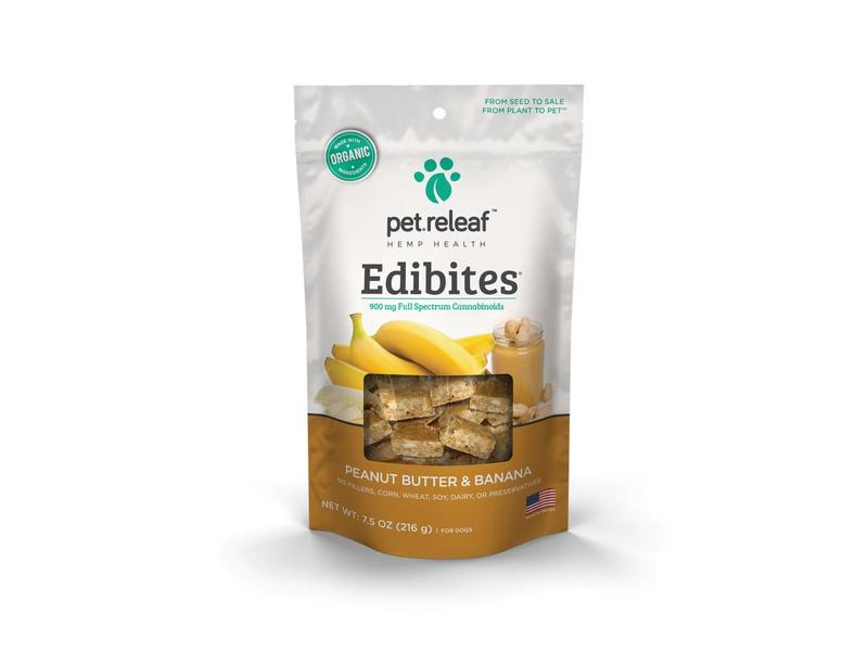 Pet Releaf Edibites Peanut Butter Banana
