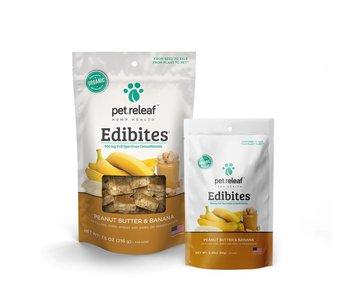 Pet Releaf Edibites CBD Peanut Butter Banana