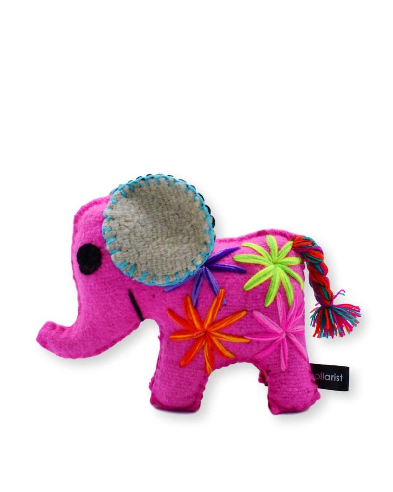 Collarist Pink Elephant Toy