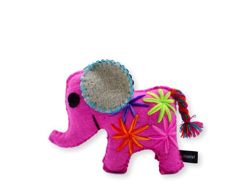 Collarist Woolen Elephant Toy