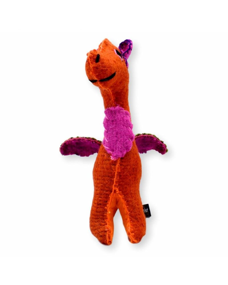 Collarist Woolen Dragon Toy