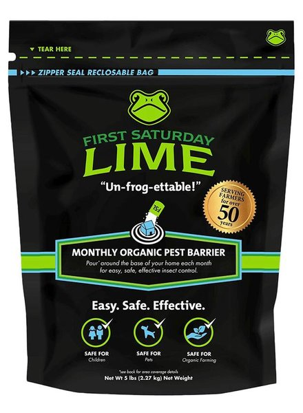First Saturday Lime Organic Pest Barrier