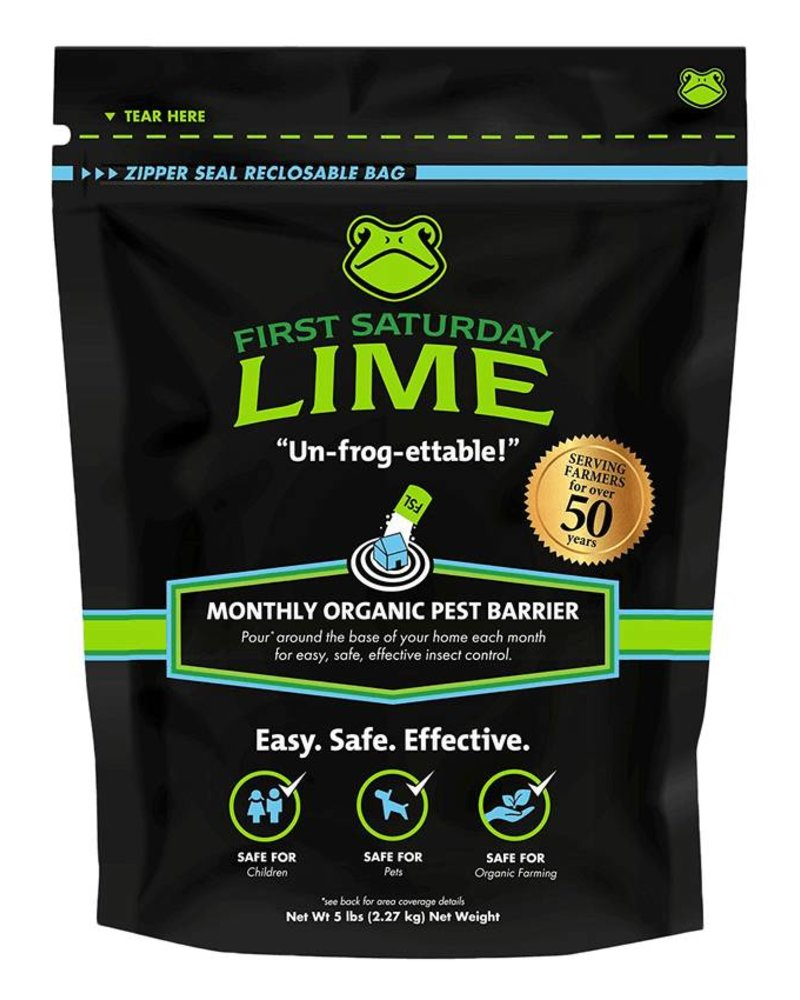 First Saturday Lime First Saturday Lime