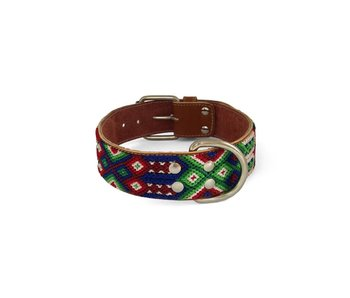 Nice Beast Friendship Leather Collar, Mezcal