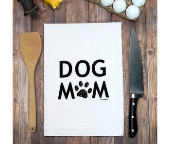 Green Bee KC Tea Towel, Dog Mom