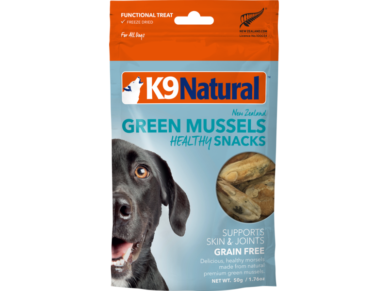K9 Natural Green Mussel Snacks