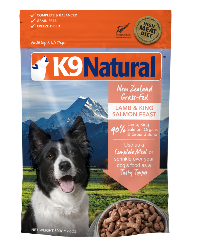 K9 Natural Raw Lamb & King Salmon Feast