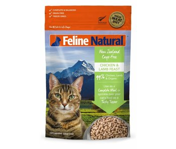 Feline Natural Chicken & Lamb Feast